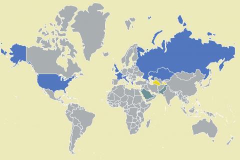 Cartographie: les 13 pays qui ont mis en place (ou presque) la vaccination obligatoire