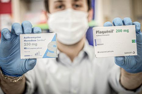 Hydroxychloroquine et azithromycine : « Un effet protecteur contre ...