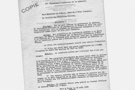 Loi 16 août 1940